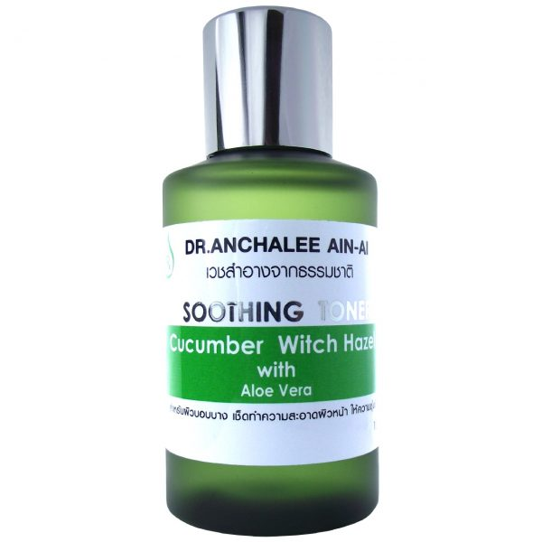 Cucumber Witch Hazel with Aloe Vera - Dr. Anchalee Ain ai, Cosmeceuticals USA - เวชสำอางจากธรรมชาติ