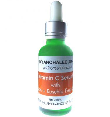 Vitamin C Serum - Dr. Anchalee Ain ai, Cosmeceuticals USA – เวชสำอางจากธรรมชาติ