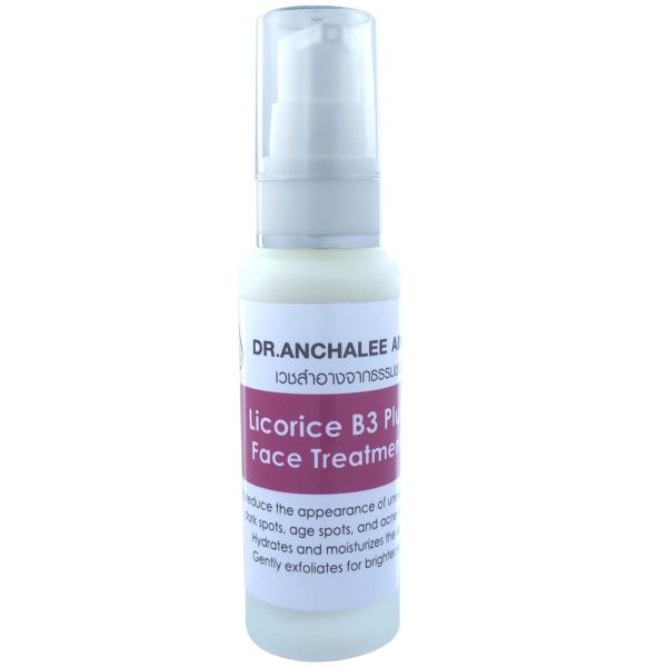 Licorice B3 Plus Face Treatment - Dr. Anchalee Ain ai, Cosmeceuticals USA – เวชสำอางจากธรรมชาติ